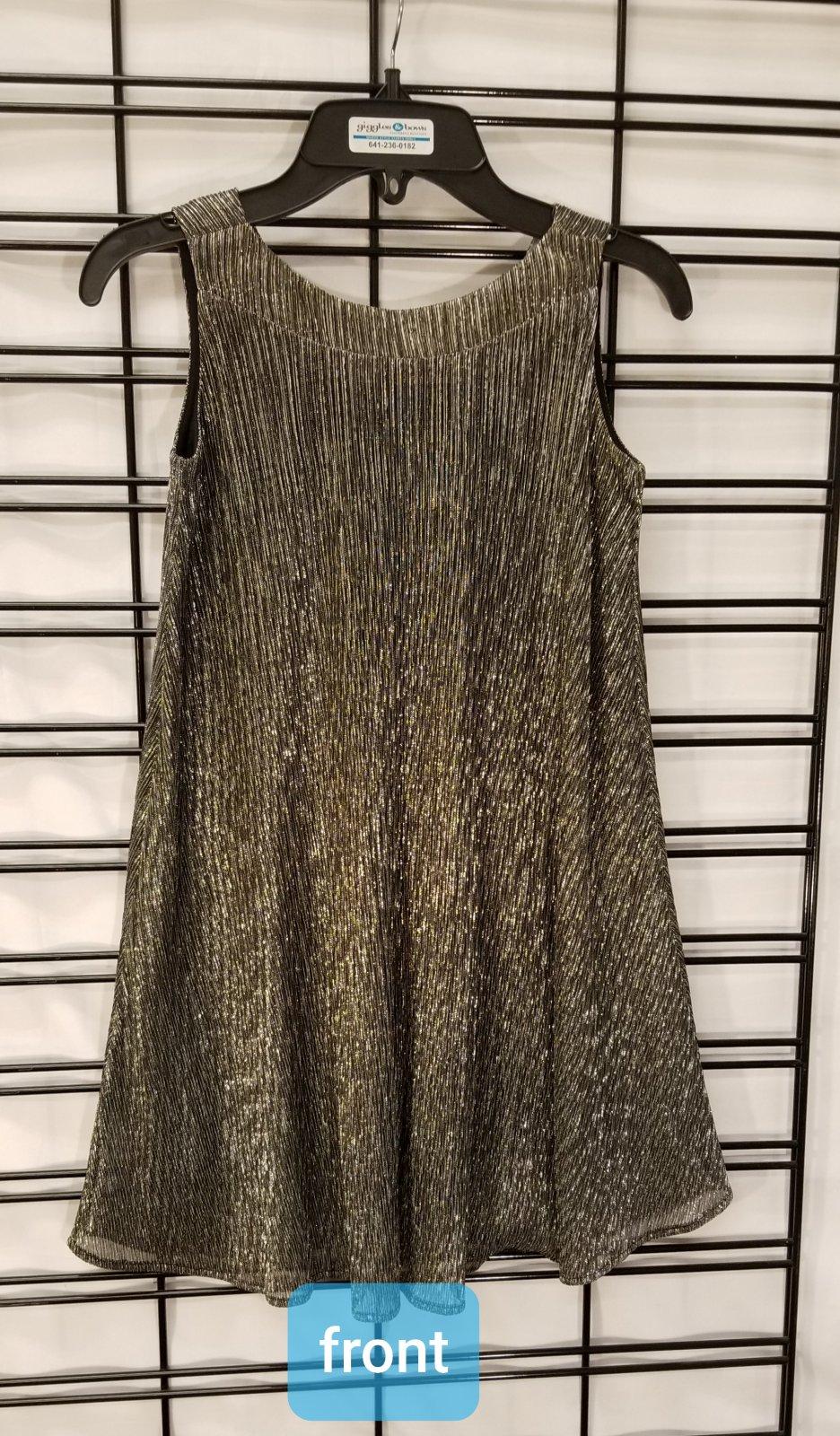 ISOBELLA & CHLOE - Black Sparkle Dress
