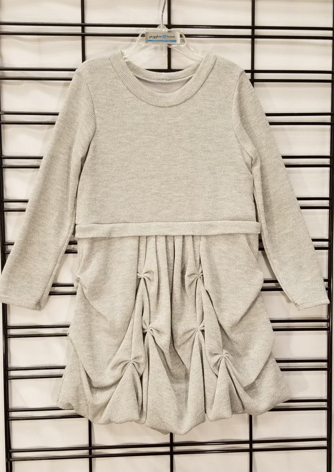 ISOBELLA & CHLOE - Silver Sparkle Dress