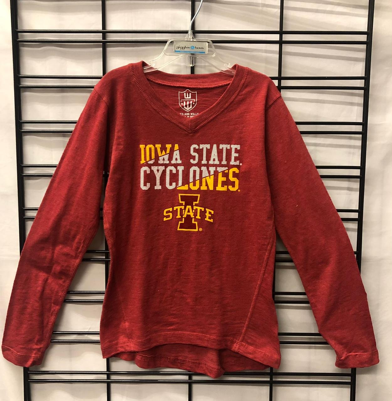 WES AND WILLY - ISU LS shirt