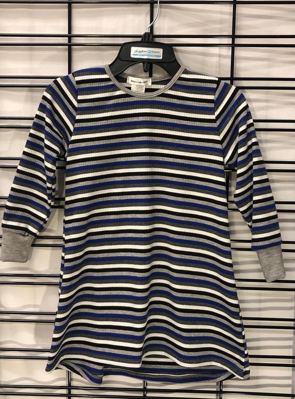 AREA CODE - Multi Stripe Color Tunic