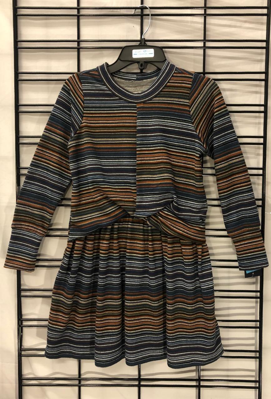 MABEL & HONEY - Multi Stripe Dress