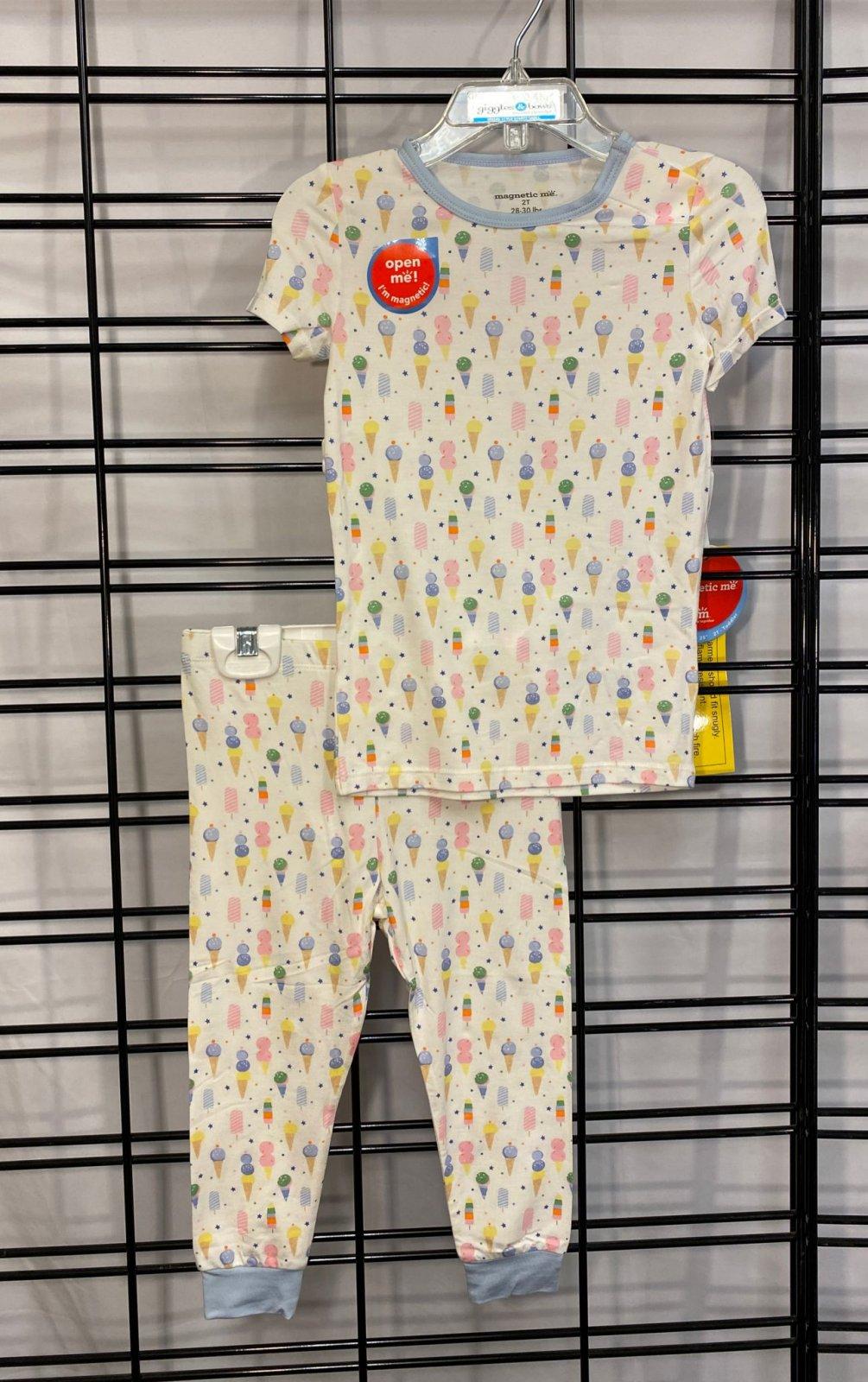 MAGNETIC ME - Ice Cream Toddler Pajama