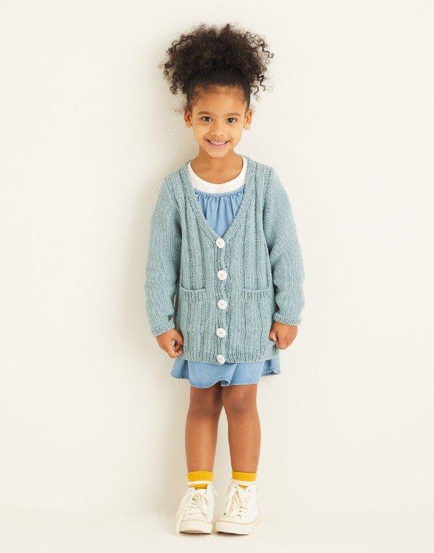 Kids Sweatshirt in Snuggly Replay DK , Design #2533 by Sirdar - copy