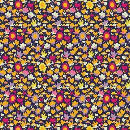 Solstice Lawn / Buttercup in Multi