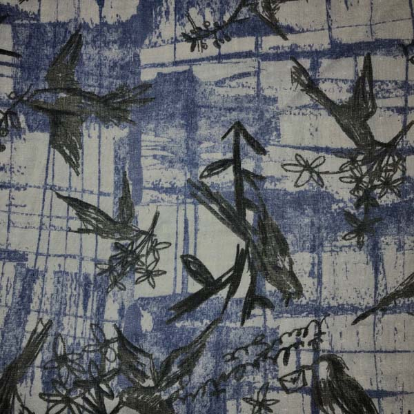 Bird Double Gauze by Kokka