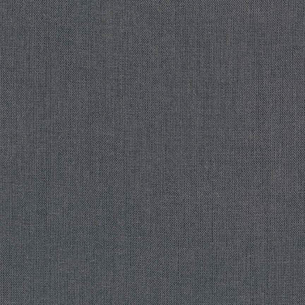 Brussels Washer Linen Solids - charcoal