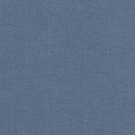 Brussels Washer Linen Solids - denim