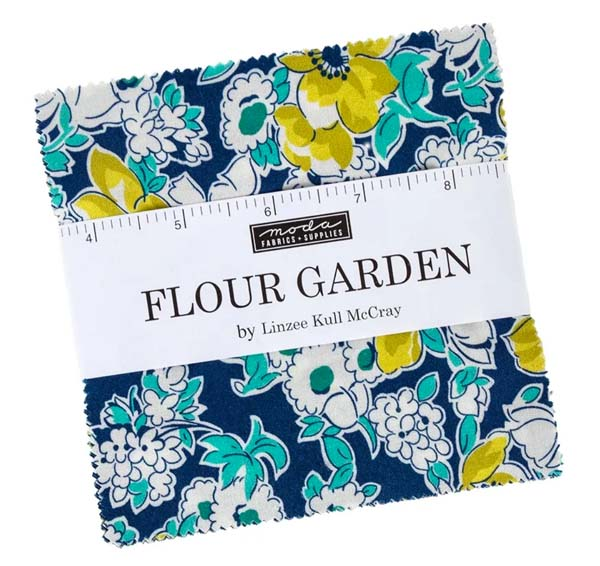 Flour Garden by Linzee Kull McCray / Charm Pack