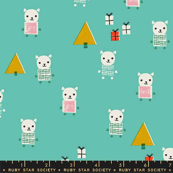 Flurry Collection by Ruby Star Society - Meowy Christmas Icebox