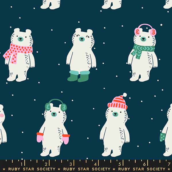 Flurry Collection by Ruby Star Society - Snow Bears