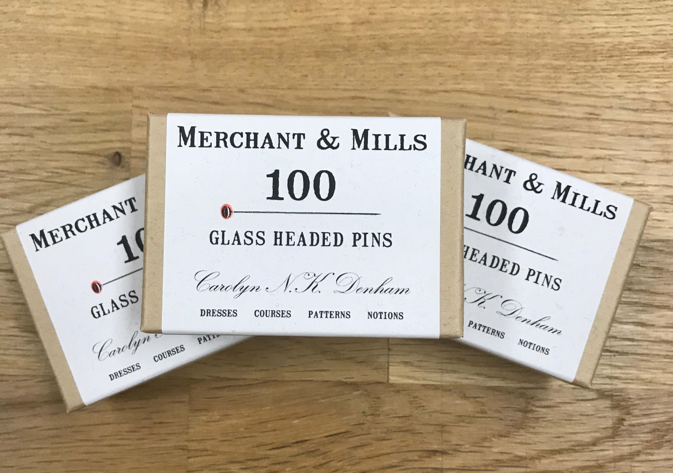 Glass Headed Pins by Merchant & Mills