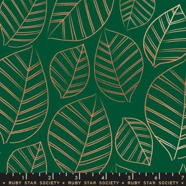 Aviary / Gold Leaf / Green