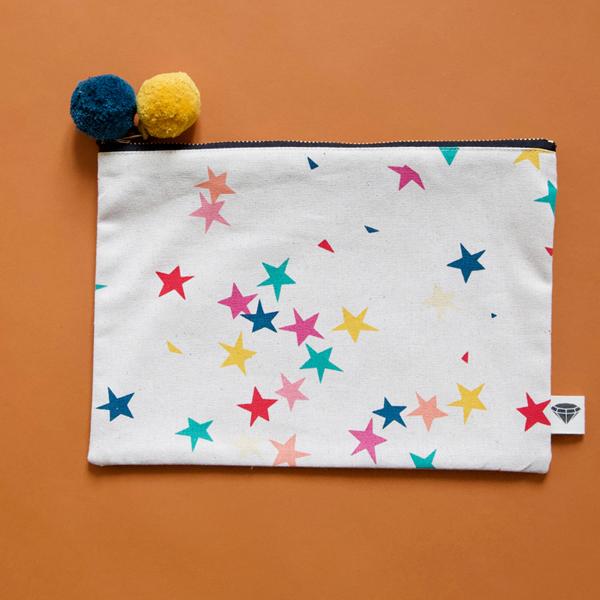 Starfetti Pouch by Ruby Star Society