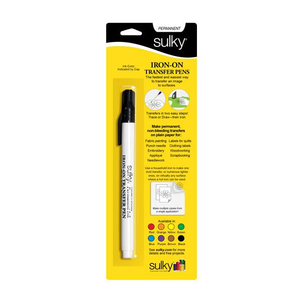 Sulky Iron-On Transfer Pen / Black Ink