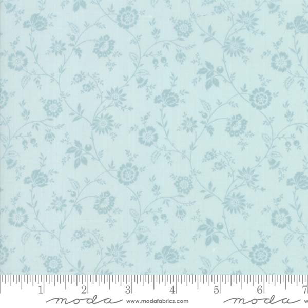 Tres Jolie Lawn by French General for Moda - dahlia seamist