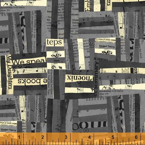 Black & Gray Collage / Carrie Bloomston