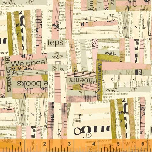 Collage in Pink / Carrie Bloomston