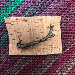 Branch Shawl Pin
