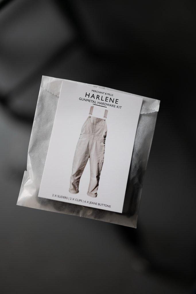 Harlene Dungaree Hardware Kit