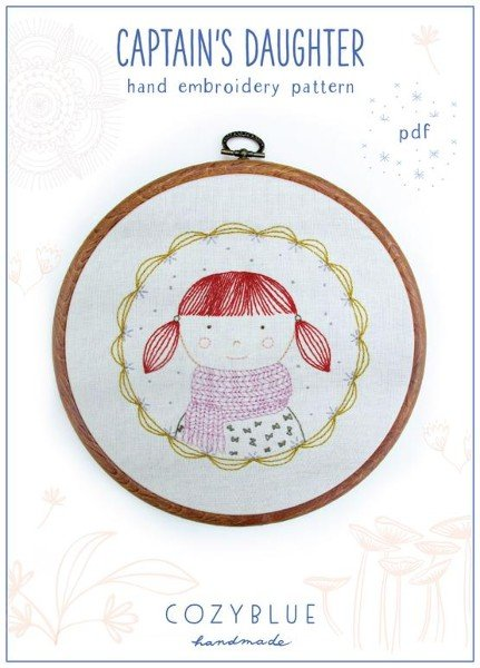 Captain's Daughter  - Iron-on Embroidery Patterns by Cozyblue