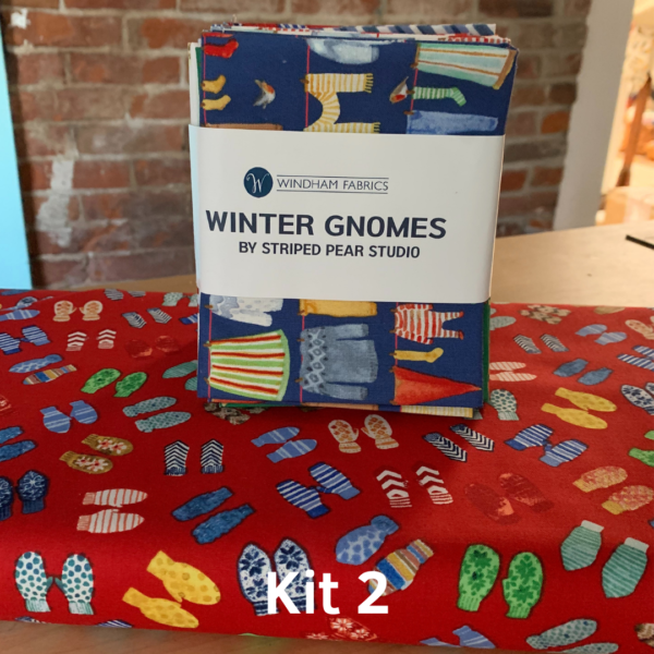 Peak Quilt-Along Kit: Winter Gnomes