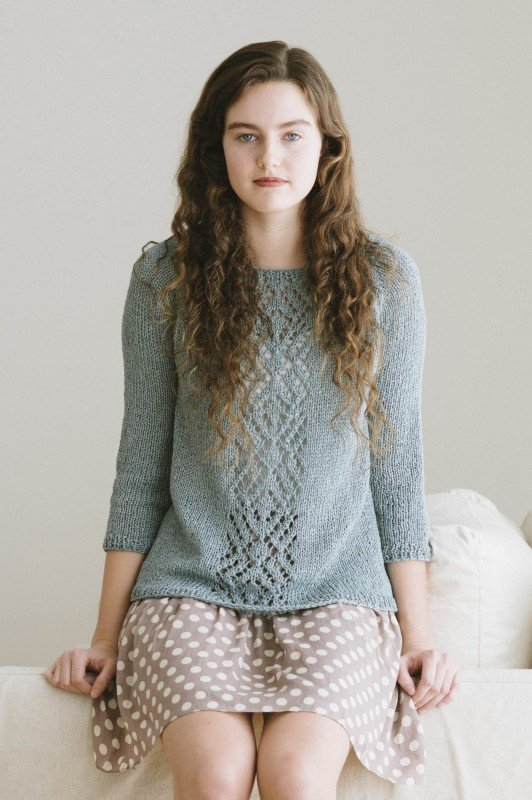 Adelaide Pullover by Quince & Co.