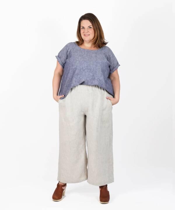 Free Range Slacks Curvy Fit by Sew House Seven