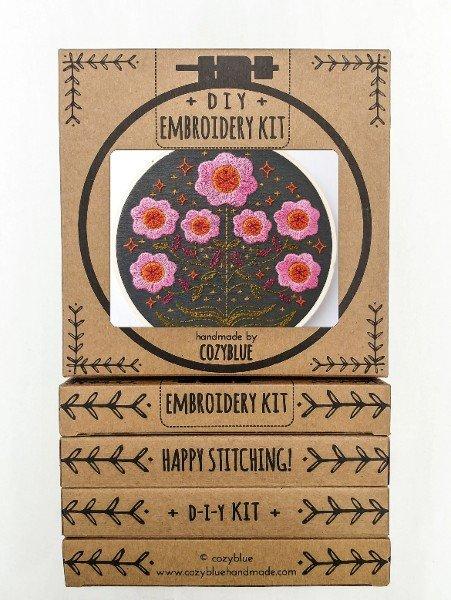 Enchanted Embroidery Kit / Cozyblue