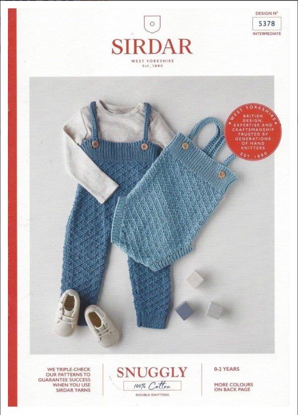 Knit Romper Pattern by Sirdar