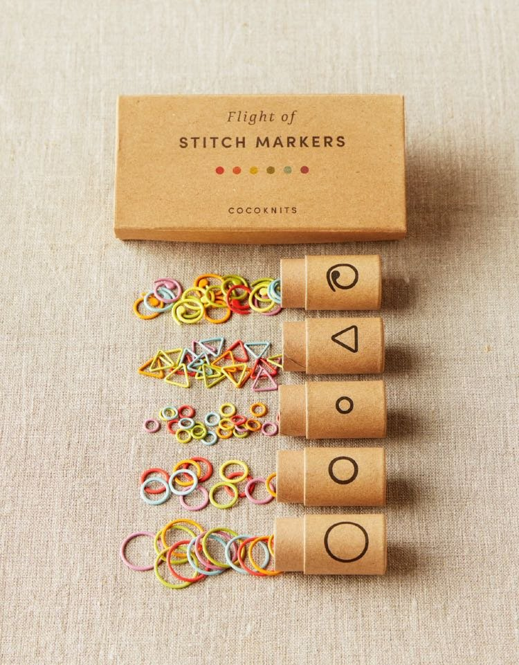 Flight of Stitch Markers / Cocoknits