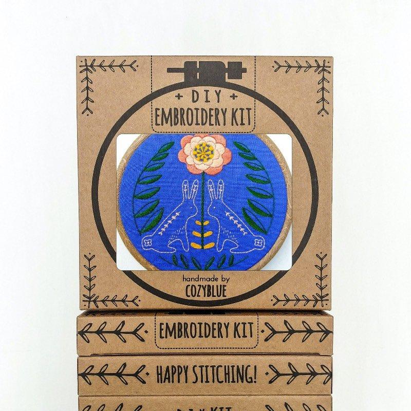 Sunny Bunnies Embroidery Kits / Cozyblue