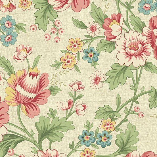 The Seamstress by Laundry Basket-Dahlia in Parchment A 9767 L