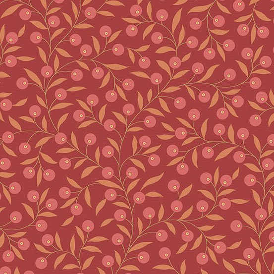 The Seamstress by Laundry Basket-Thimble in Crimson A 9771 R