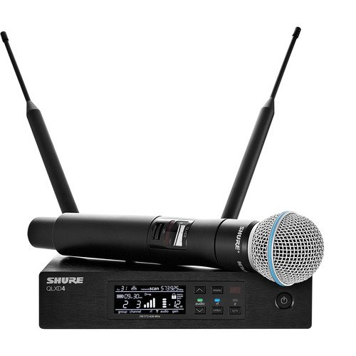 Shure QLXD24/B58-G50 Beta 58® Vocal System