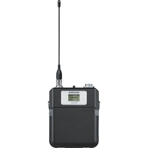 Shure ADX1 Wireless Bodypack Transmitter with TA4 Connector