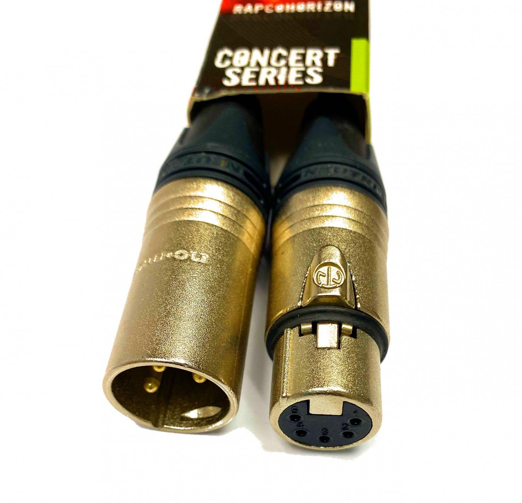 RapcoHorizon 3-pin Male-5-pin Female DMX Adaptor Cable