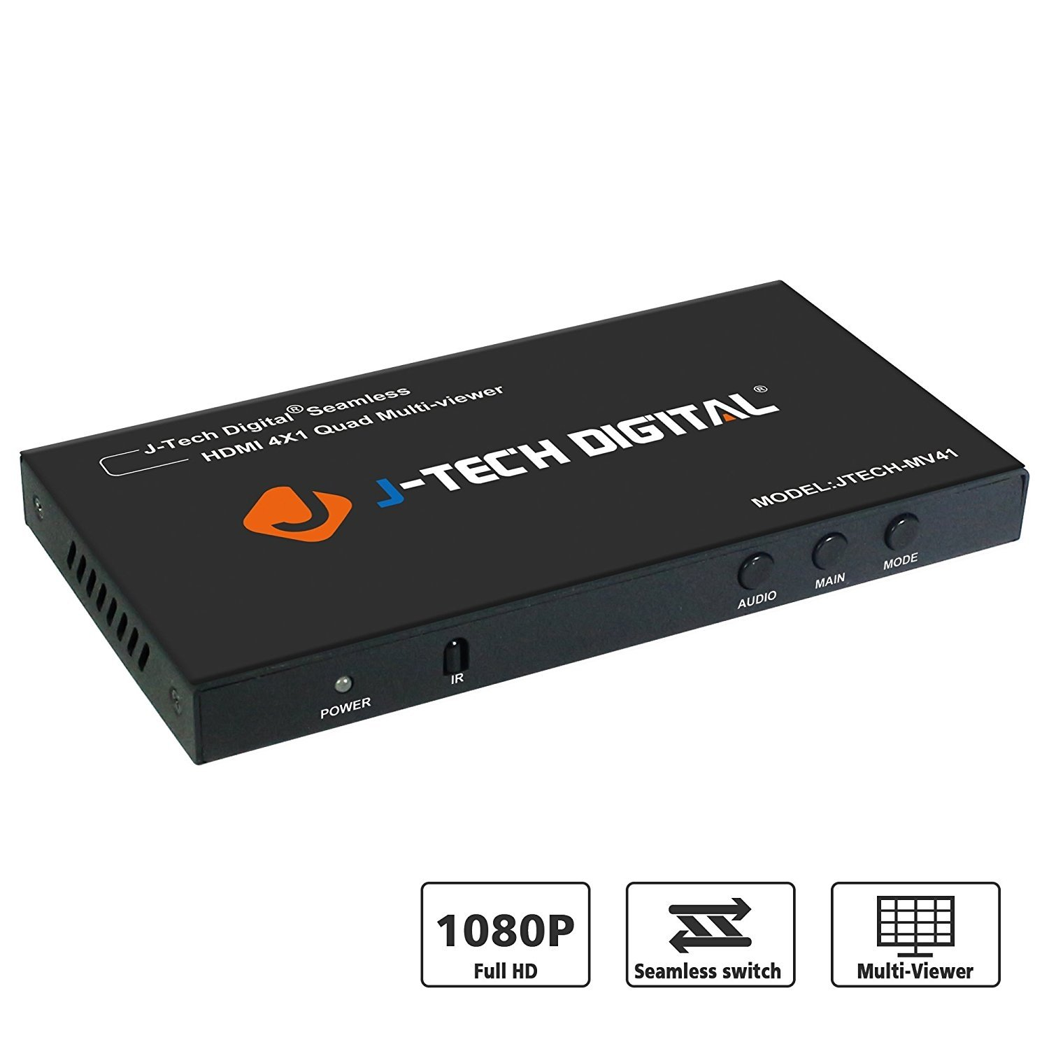J-Tech Digital HDM1 4x1 Multi-Viewer with Seamless Switch Function