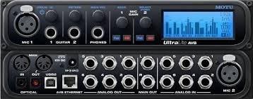 Motu UltraLite AVB Audio Interface Regular