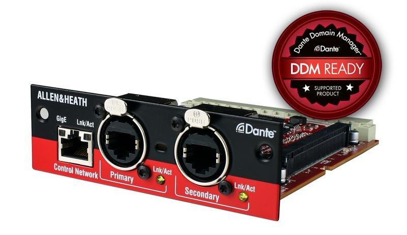 Allen & Heath M-Dante Digital Audio Networking Option Card
