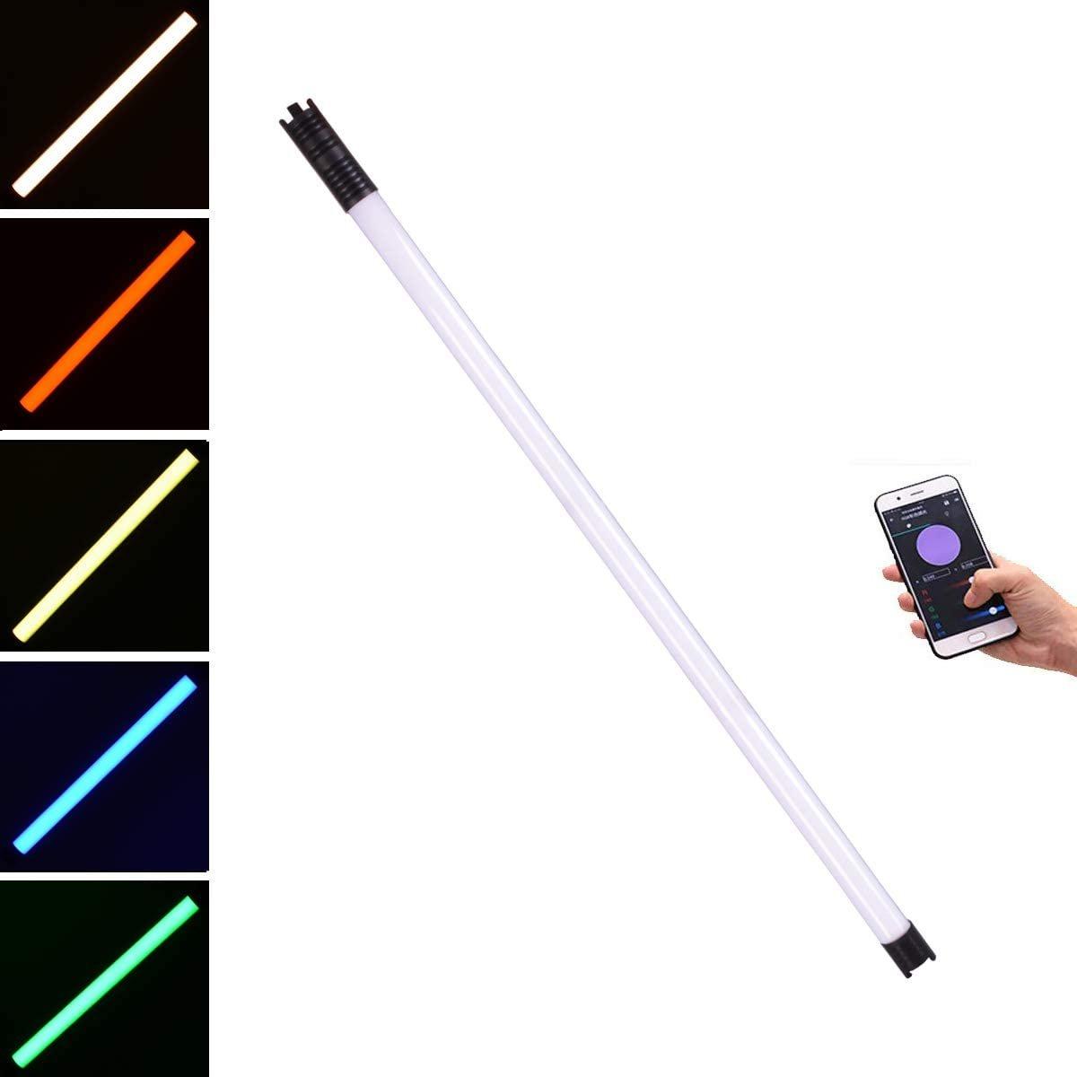 DigitalFoto Solution Limited Chameleon LED RGB Tube Light, 4'