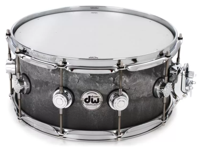 DW Collector's Series Snare Drum - 6.5 x 14 inch - Concrete