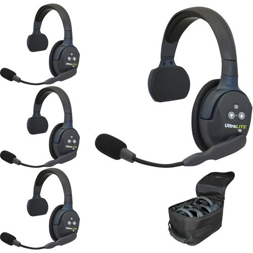 Eartec UL4S UltraLITE Four-Person Headset System