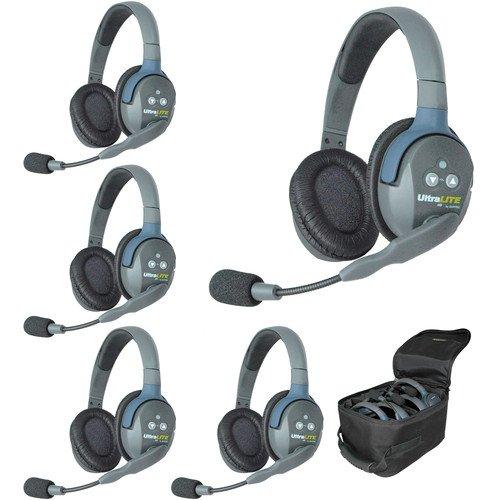 Eartec UL5D UltraLITE Five-Person Headset System