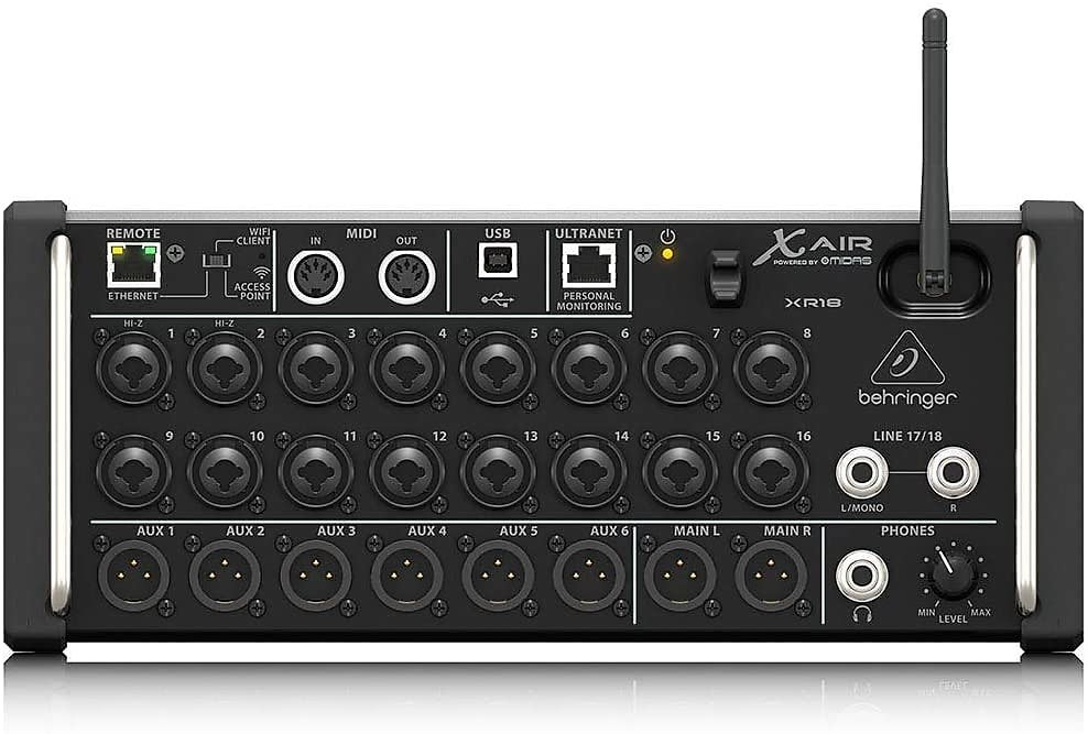 Behringer X Air XR18 18-channel Tablet-Controlled Digital Mixer