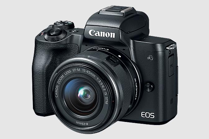 Canon EOS M50 EF-M 15-45mm IS STM Lens Kit Black