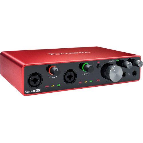 Focusrite Scarlett 8i6 3rd Gen USB Recording Interface