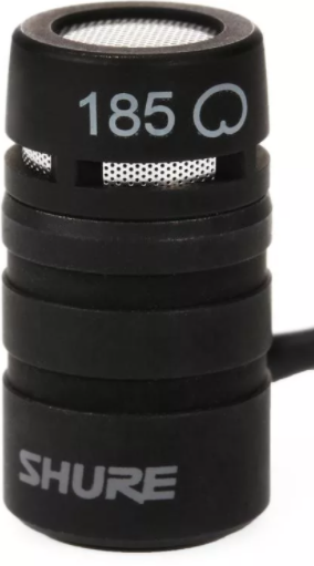 Shure WL185 Lavalier Microphone