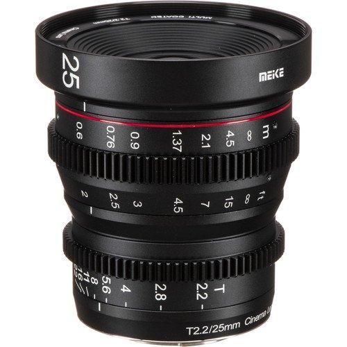 Meike 25mm T2.2 Manuel Focus Cinema Lens
