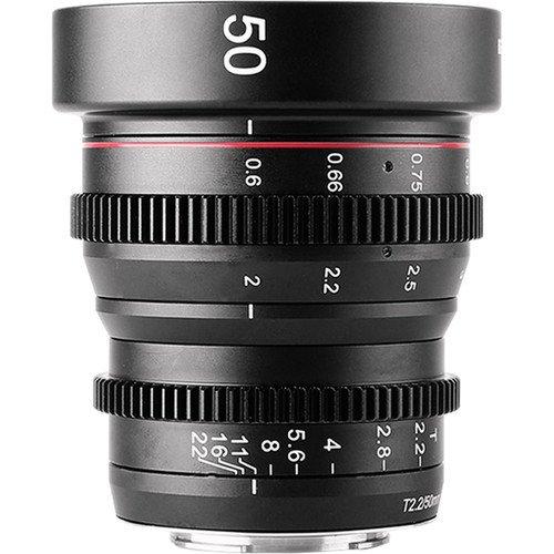 Meike 50mm T2.2  Cinema Lens (MFT Mount)