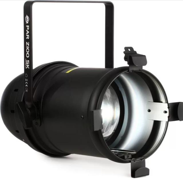 ADJ PAR830 PAR Z100 5K Warm White LED Par Can with Black Housing